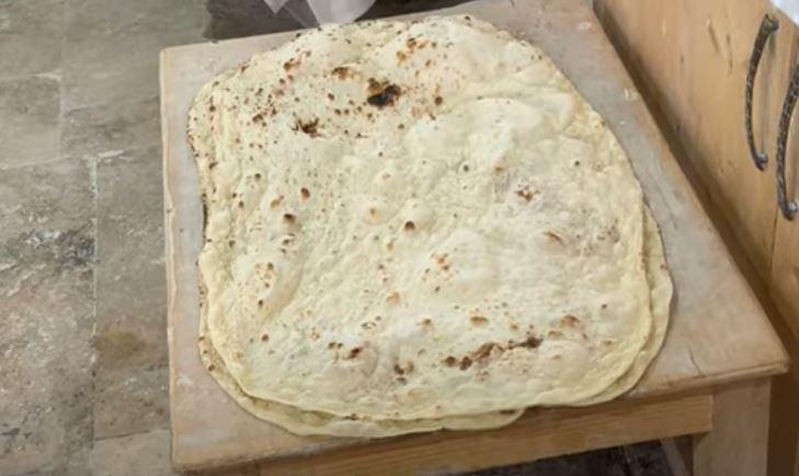 Turkkilainen Lavash-leipä