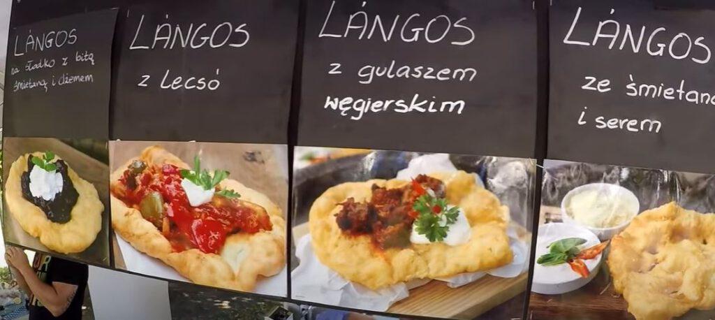 Langos unkarilainen leipä
